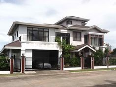 House Design Exterior Philippines Bedrooms New Ideas Maids Room, House Entrance, Pool Houses, Modern House Design, Home Builders, Exterior Design, Future House, Luxury Homes, House Plans