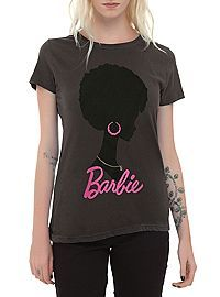 HOTTOPIC.COM - Barbie Afro Icon Girls T-Shirt