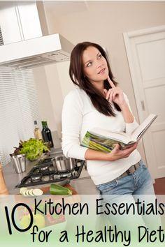 10 Kitchen Essentials For a Healthy Diet