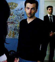David Tennant as Kilgrave in Jessica Jones. That face tho.