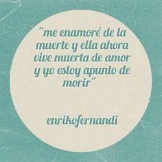 Apunto de morir... #frases #letras #quotes #amor #tintasmentales