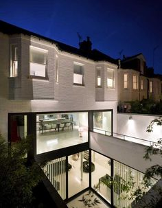 Oh. My. God. A house like this in the middle of London. I am speechless:Mews 02 by Andy Martin Architects