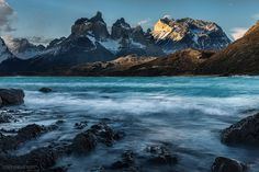 Los Cuernos, Torres del Paine National Park, Patagonia - Southern Chile