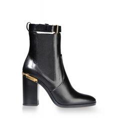 Reed Krakoff Gold Trim Ankle Boot - Shop more fall boots at ShopBAZAAR.com http://shop.harpersbazaar.com/shoes/boots/