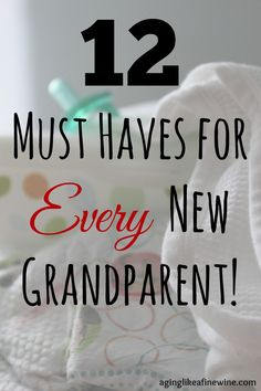 12 must haves for every new grandparent! - Aging like a good wine Soon to be new grandparents? Wondering what you should have for the baby in your house? These are 12 must-hav First Time Grandparents, National Grandparents Day, First Time Grandma, Grandma And Grandpa, Grandma Names, Grandmother Quotes, Grandmother Gifts, Christmas Presents For Babies, Baby Christmas Gifts