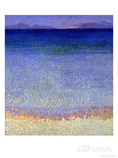 189 €The Iles D'Or (The Iles D'Hyeres, Var), circa 1891-92 reproduction procédé giclée par Henri Edmond Cross sur AllPosters.fr