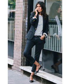Stilikonen wie Emmanuelle Alt, Caroline de Maigret oder Clémence Poésy begeistern uns immer wieder mit ihrem entspannten Pariser Chic. Wir haben uns den Sti
