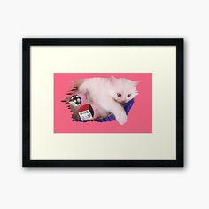 Canvas Prints, Framed Prints, Art Prints, Original Art For Sale, Baby Cats, Persian, Fine Art America, Art Drawings, My Arts