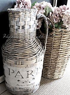 Heaven's Walk: Vintage French Market Baskets
