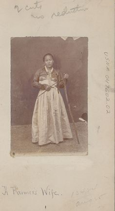 """A farmer's wife"" ca. 1878 Natl Anthropological Archives SIRIS"