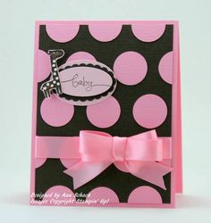 Polka Dots for Baby by bbcrazy - Cards and Paper Crafts at Splitcoaststampers