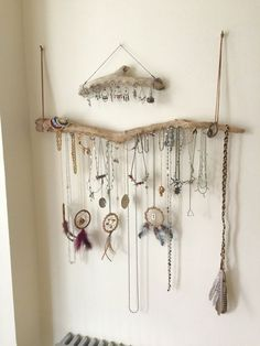 Driftwood Jewelry Organizer - Made to Order Jewelry Hangers - Pick the Driftwood - Boho Decor Storage Jewelry Holder Hanging Jewelry Display - Driftwood Jewelry Organizer Wall Hanging Necklace Holder Bracelet Hanger Earring Display Tree – - Diy Jewelry Holder, Jewelry Hanger, Earring Holders, Bracelet Holders, Diy Necklace Holder, Diy Bracelet, Jewelry Stand, Bracelet Organizer, Jewelry Box