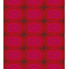 Marimekko Noitarumpu Fabric Red Repeat  Sale $26.70