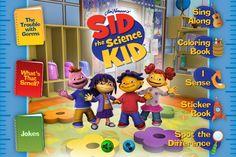 Sid the Science Kid Read & Play - iOS app