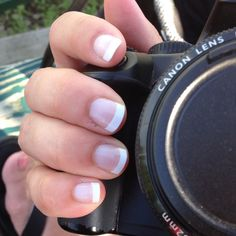 DIY French Manicure with Jamberry Nail Wraps
