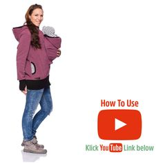 Follow us on Youtube :) Viva la Mama | Baby Carrying Jacket CHARLIE (3in1- berry). Hoody for pregnancy, maternity, baby wearing and everyday use. No worries about the blanket not covering toes or fingers! #vivalamama #maternityfashing #babycarrying #babywearing #nursingwear