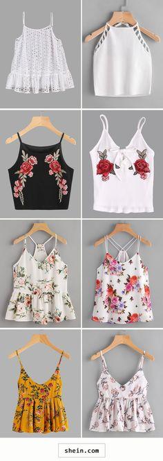 New Diy Fashion Dresses Crop Tops Ideas Diy Fashion Dresses, Teen Fashion Outfits, Outfits For Teens, Fashion Clothes, Girl Fashion, Summer Outfits, Casual Outfits, Womens Fashion, Fashion Shirts