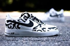 The Nike Air Force 1 Low Tribal Tattoo Custom is the latest design from  custom artist Ecentrik Artistry inspired by the Tribal Tattoo craze from the 5f8216e0d