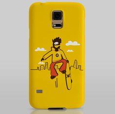 SKATE Smartphone case Samsung S5 Mónica Ramoneda