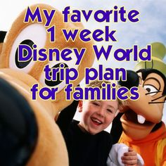 My favorite 1 week Disney World trip plan - Favorite overall resorts, dining locations & special touches included