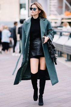 20 Thigh-High Boot Outfits to Inspire Your Winter Wardrobe