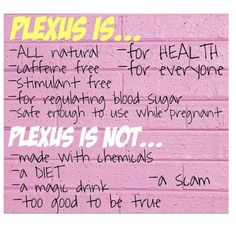 I was very skeptical as well, but now that I have stated taking Plexus, Im feeling so much better again with lots of energy, I'm so happy I stated my Plexus Journey. If you would like to try Plexus out visit www.BrandMePink.MyPlexusProducs.com Ambassador Number 270277 #plexusslim, #plexusenergy, #plexusworks