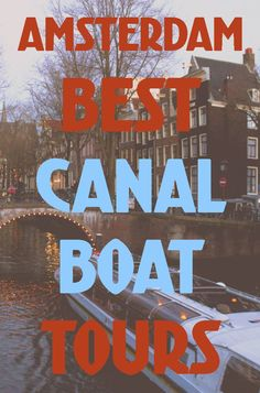 Gawk at the historic buildings and romantic bridges along Amsterdam's beautiful canals while relaxing on a canal boat tour. #amsterdam