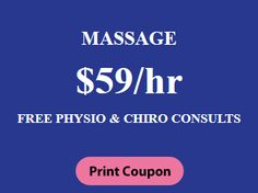 Physio & Rehab Clinic Special Packages , #massage @ $59/hr, Free #physion & #chiroconsults Beauty Spa, Print Coupons, Clinic, Massage, Events, News, Fitness, Free, Massage Therapy