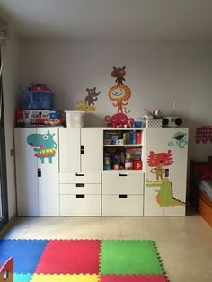 Ikea Stuva kids room núria Antonijoan                                                                                                                                                                                 More