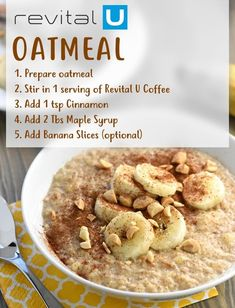 Start Your Day Different Power Breakfast, Best Breakfast, Coffee Review, Green Coffee Bean Extract, Happy Coffee, Banana Slice, Wellness Programs, Oatmeal Recipes, Detox Tea