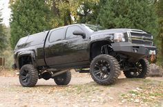 Murdered out Chevy Truck . Lifted Chevy Trucks, Gm Trucks, Chevrolet Trucks, Diesel Trucks, Cool Trucks, 1957 Chevrolet, Chevy Pickups, Muddy Trucks, Dodge Ram Diesel