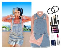 """Melanie Martinez Inspired x2 x"" by the-diana-prince ❤ liked on Polyvore featuring See by Chloé, Dorothy Perkins, Essie, Givenchy, MAC Cosmetics, Yves Saint Laurent, Lancôme and Hanky Panky"