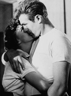 Natalie Wood and James Dean