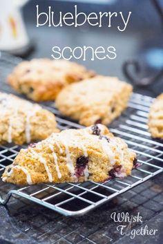 Blueberry Scones: Whisk Together