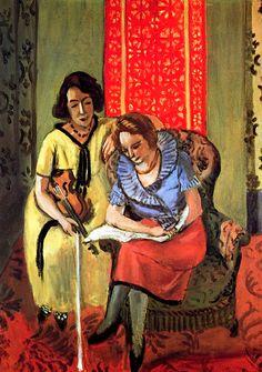 Two Musicians / Henri Matisse - 1921