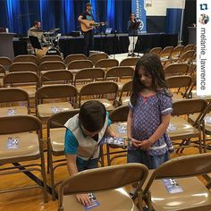#Repost @melanie_lawrence with @repostapp.  Setting up for church! We will se you @redemptionokc at 10:30 at John Ross! #trainupachild