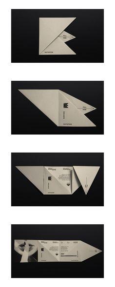 Invitation design for Ergon Showground event hall.