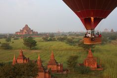 Most beautiful places to travel - Bagan, Myanmar Beautiful Places To Travel, Bagan, Vacation Ideas, Mona Lisa, Travel Destinations, Most Beautiful, Adventure, Artwork, Painting