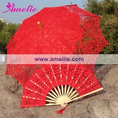 Find More Bridal Umbrellas Information about Lace Fan And Lace Parasols  Wedding Umbrella,High Quality umbrella size,China umbrella garden Suppliers, Cheap parasol beach umbrella from Amelie Wedding Boutique Shop on Aliexpress.com