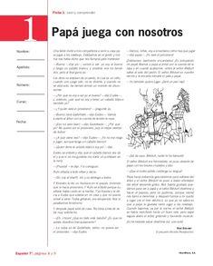 Fichas español 7
