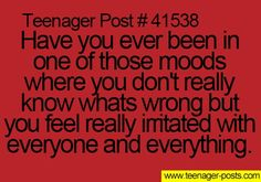 and I keep asking myself what's wrong with me