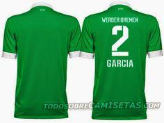 ¿Será esta la Nuevas camisetas del werder Bremen para la temporada 2014-2015??? [FOTO]