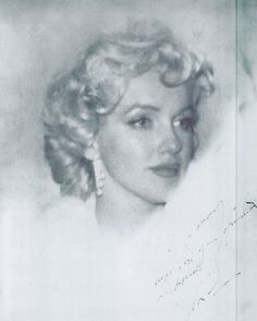"Marilyn photographed by James Haspiel on January 7th 1955 with the picture inscribed saying, ""To Jimmy, thanks for your friendship and devotion, Marilyn."