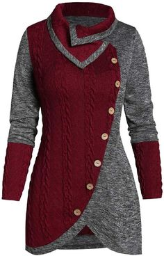 Tunic Sweater, Long Sleeve Sweater, Pullover Sweaters, Knit Sweaters, Sweater Shop, Sweater Outfits, Oversized Sweaters, Long Sweaters, Dress Outfits