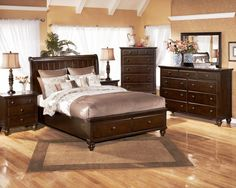 The Porter Sleigh Bedroom Set from Ashley Furniture HomeStore ...