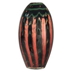 Dale Tiffany 12H in. Carmelo Vase - PG80168