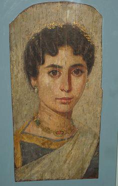 Roman funerary painting. Taken at the British Museum
