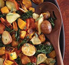 This dish features kale as its secret ingredient. This recipe is from The Old Farmer's Almanac Comfort Food cookbook. Buy it here. Photo: Becky Luigart-Stayner