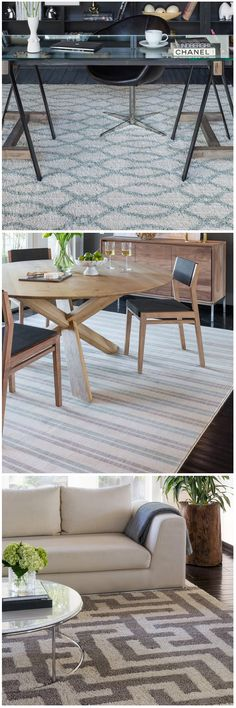 Appealing geometric patterns and muted palettes create the fresh look of the new line of area rugs from design maven Jeff Lewis. Each carpet comes in multiple colors and sizes, so you're sure to find just the right rug for your space. Shop them exclusively at The Home Depot.
