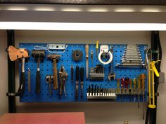 "SUBMISSION: ""Been sitting on this one for a while. Christmas Day 2012, being shown round my Sister and Brother in laws house for the first time. Here is his new tool shed organized neatly."" (adigitalburger) Via: Things Organized Neatly, Curated by Austin Radcliffe"